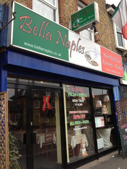 Bella Naples in South Woodford