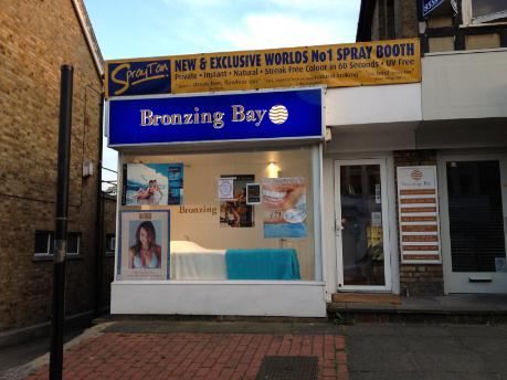 Bronzing bay in Buckhurst Hill