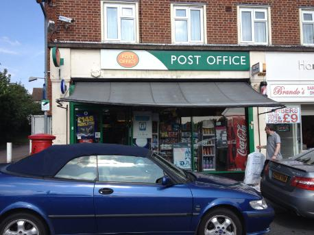 Post office in Buckhurst Hill