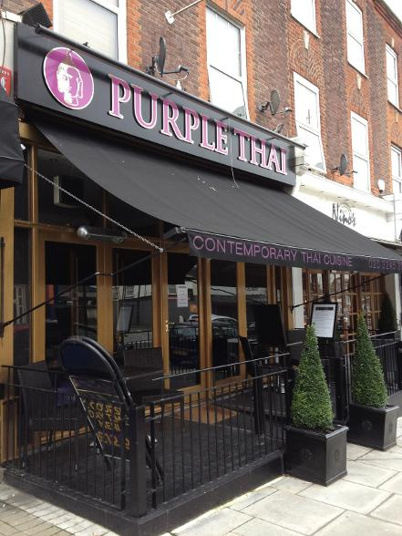 Purple Thai in South Woodford