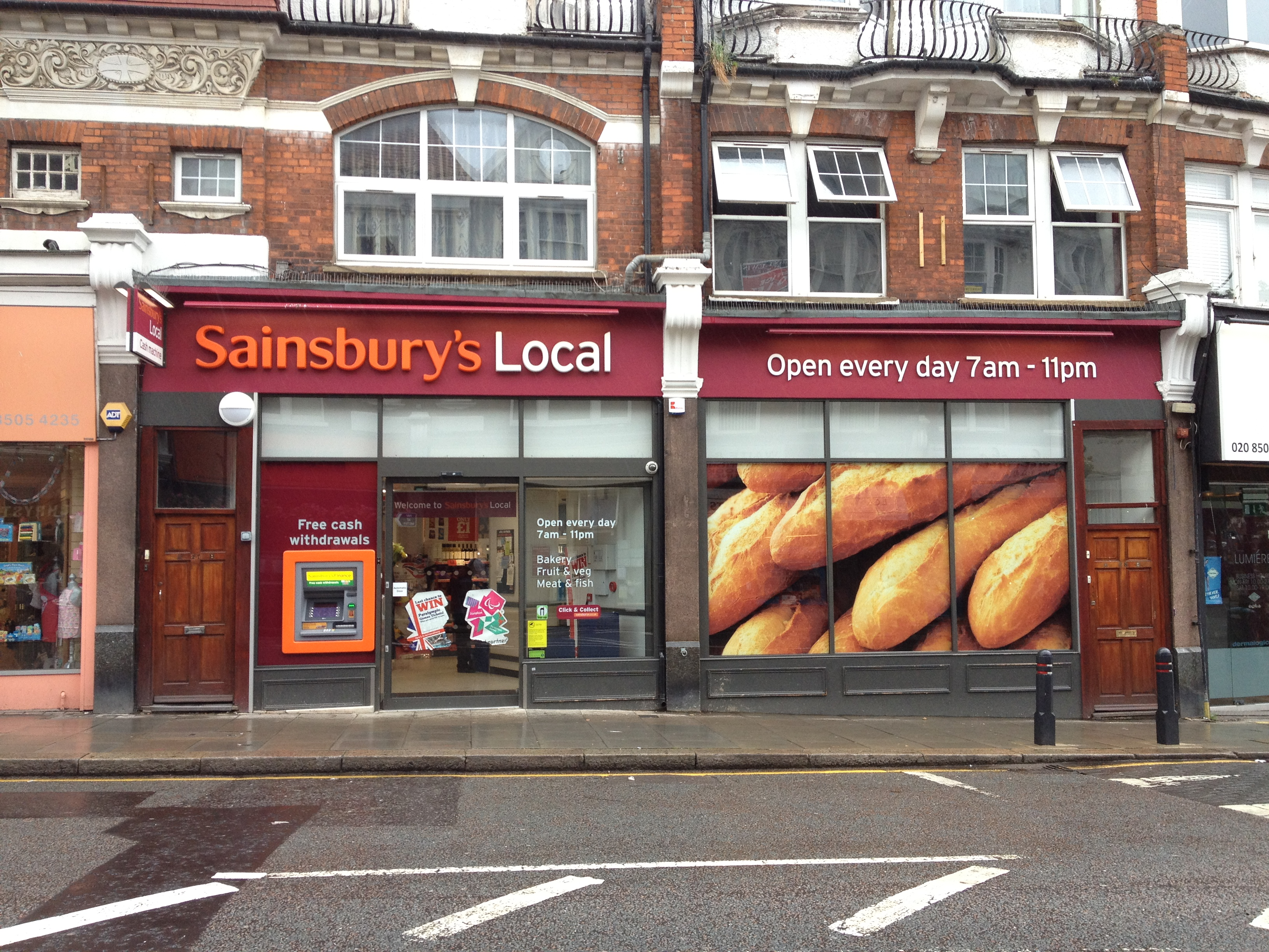 Sansburys Local in Woodford Green
