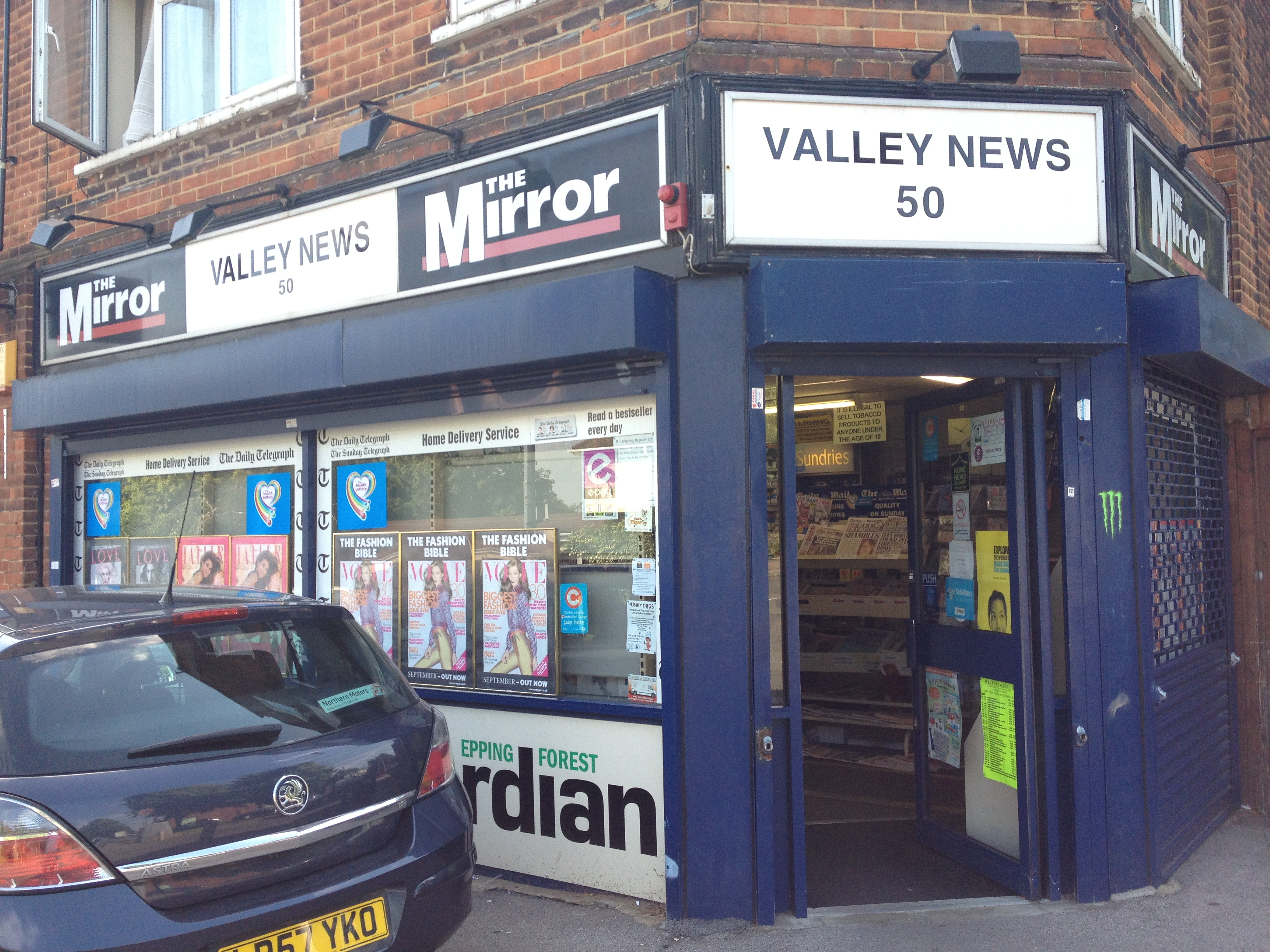 Valley News in Buckhurst Hill
