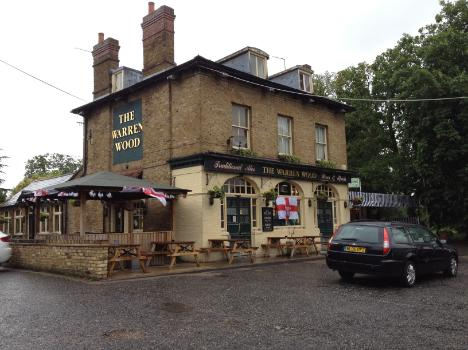 Warren Wood Pub in Buckhurst Hill