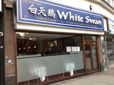 White Swan in Woodford